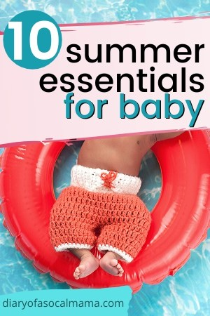 summer essentials for baby