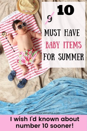 best summer items for baby
