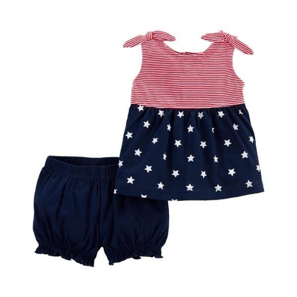 baby 4th of july outfit - Carters