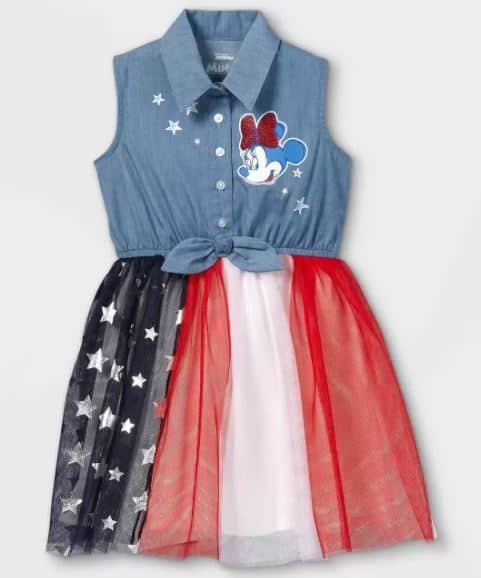 minnie 4th of july dress - target