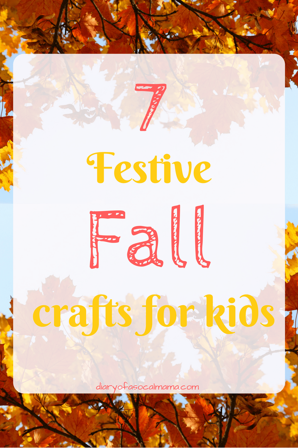 7 Fall crafts for kids