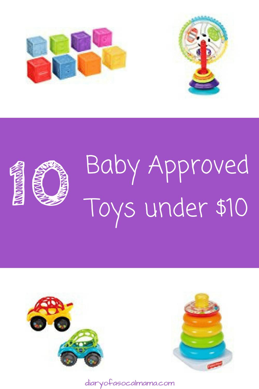Baby toys under $10