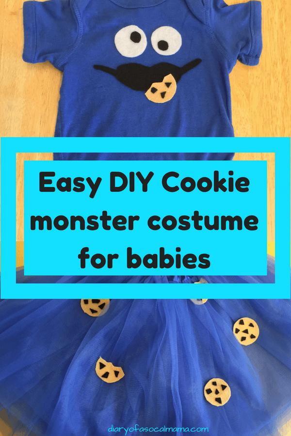 diy cookie monster costume