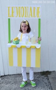 lemonade stand costume