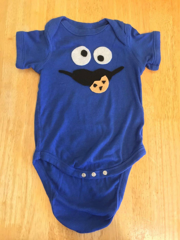 cookie monster onesie