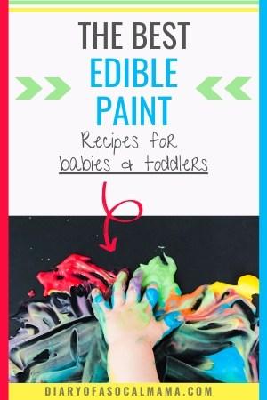 edible paint recipes