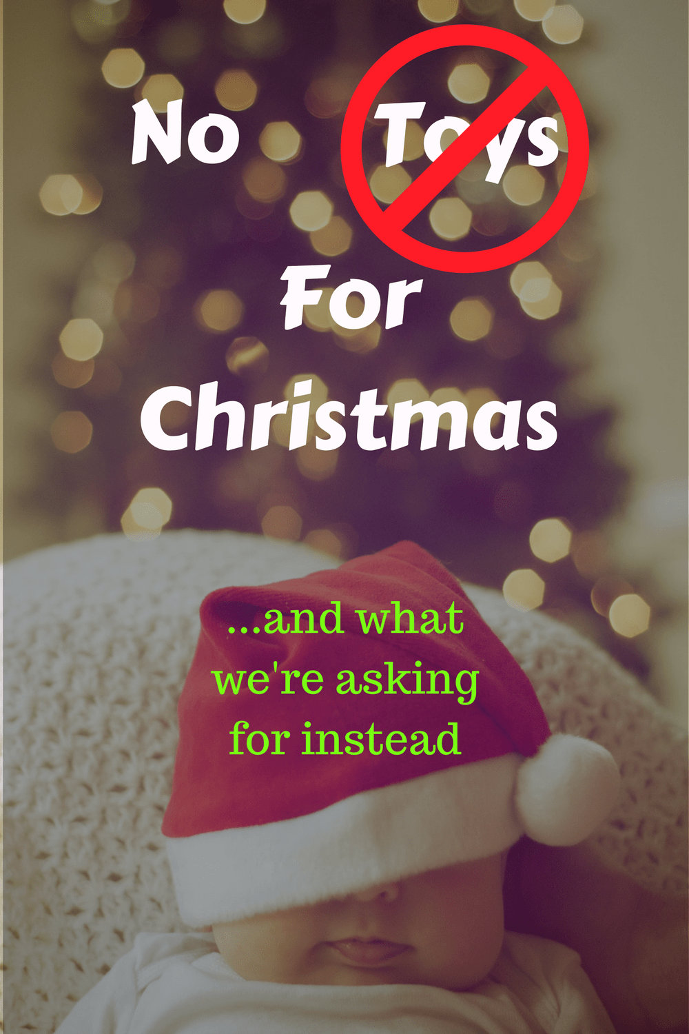 Toy alternatives for Christmas