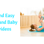 Easy mommy and baby yoga videos
