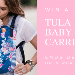 Tula baby carrier giveaway