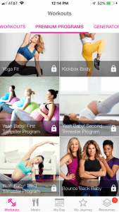 Jillian Michaels pregnancy workouts