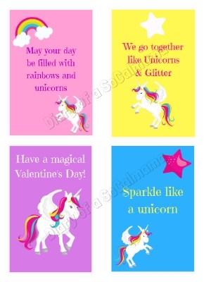 Unicorn Valentines