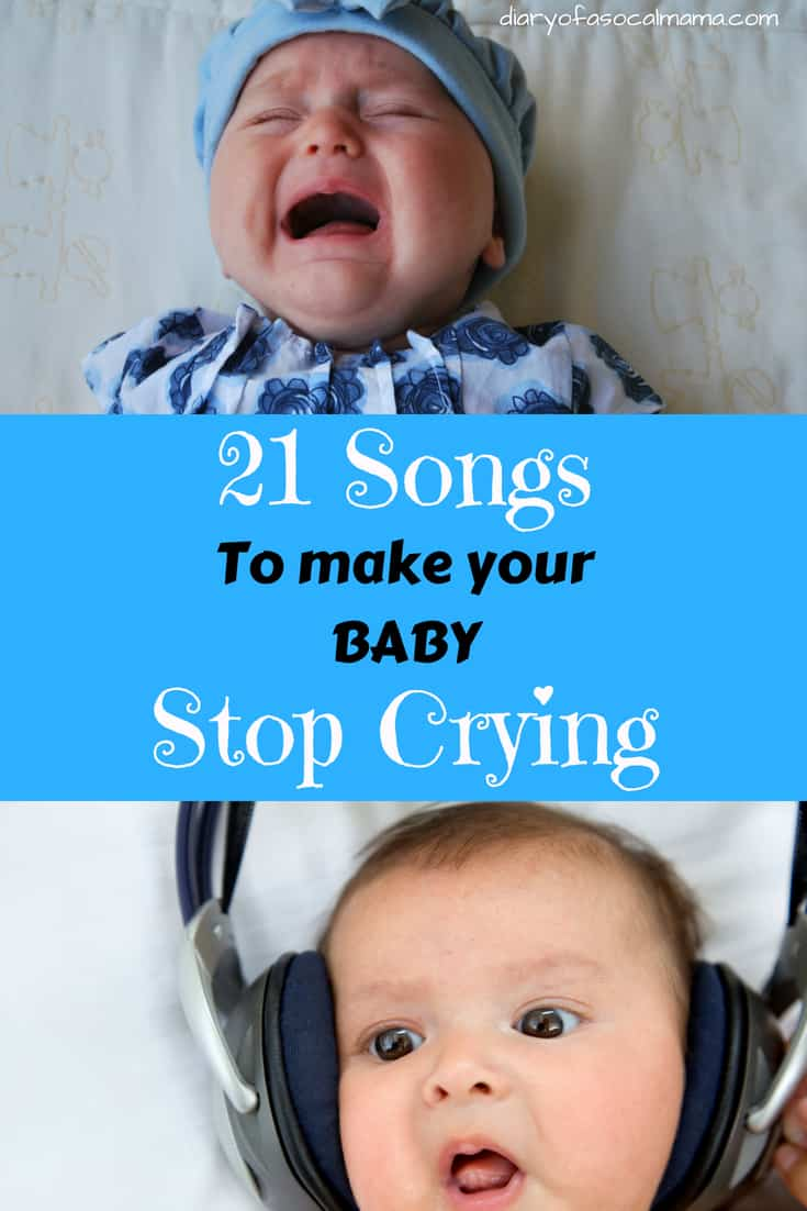 make baby stop crying
