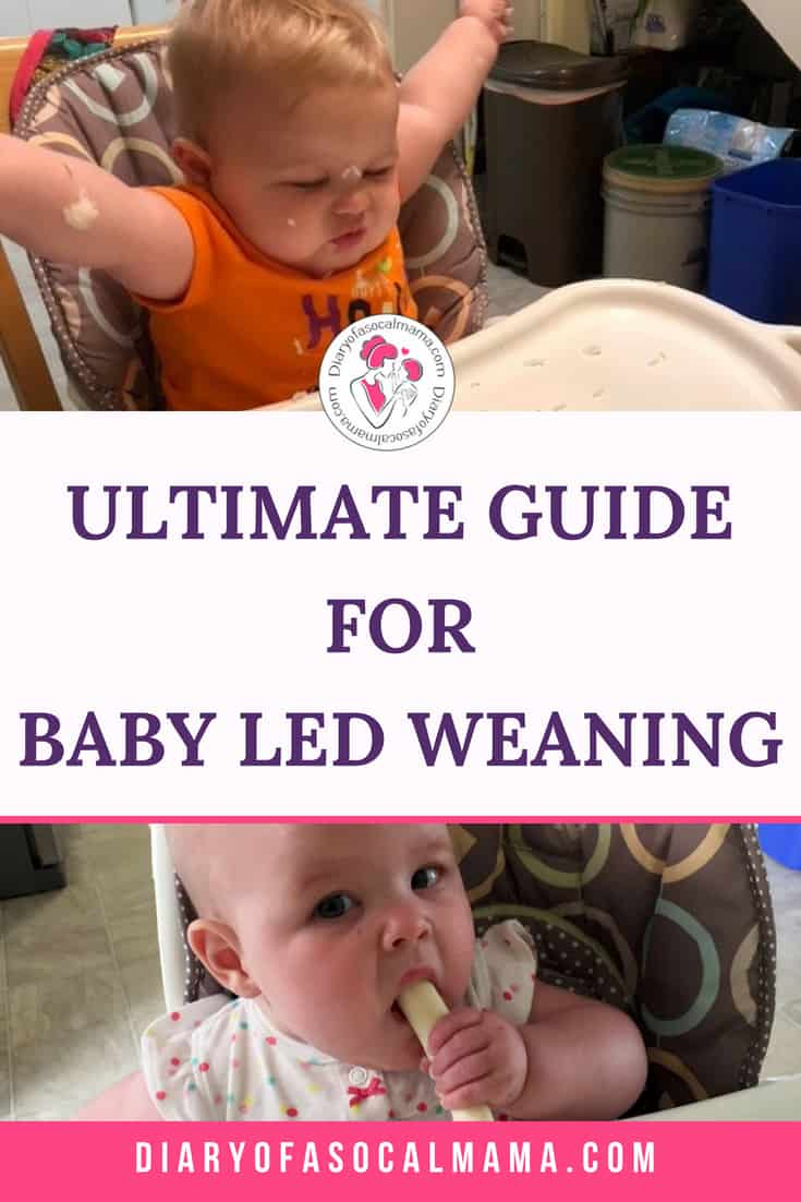 baby led weaning how to