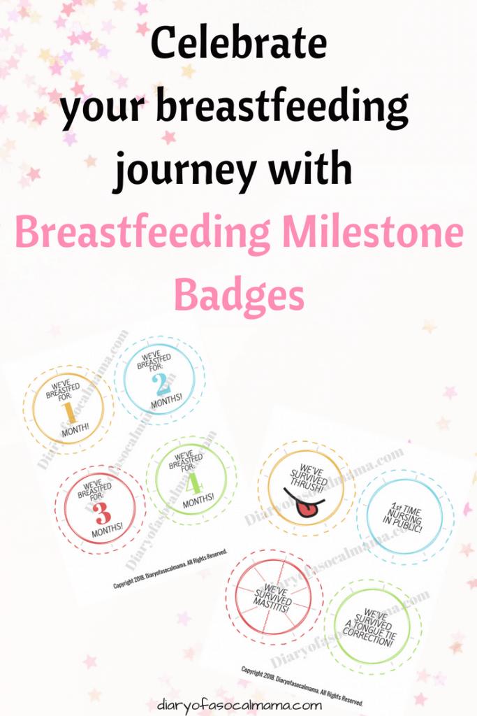 breastfeeding badges