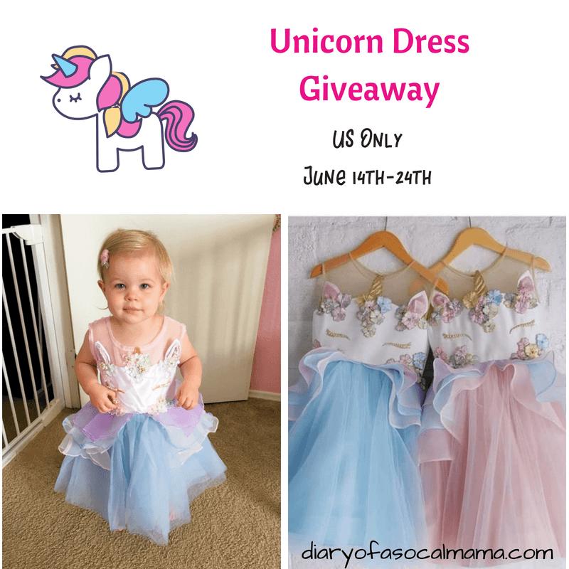 unicorn dress giveaway
