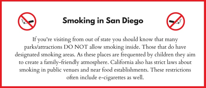 No Smoking in California