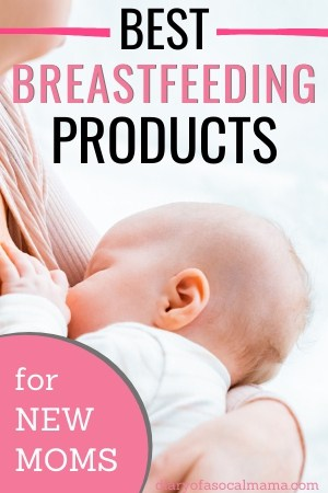 must have breastfeeding items