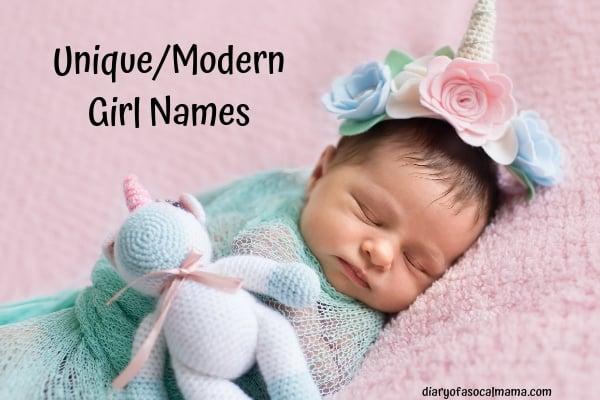 unique girls names