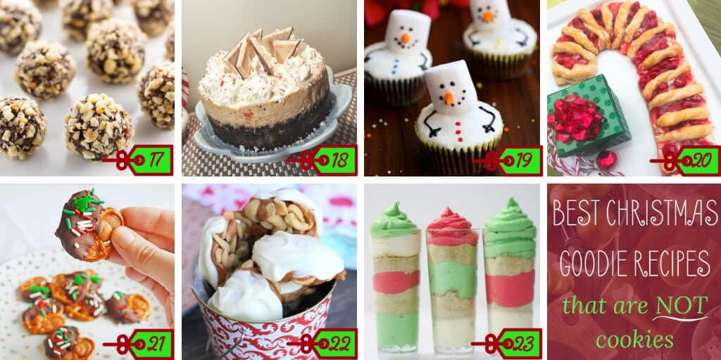 non cookie Christmas recipes