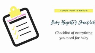 Grab this essential baby registry checklist: From one mom to another