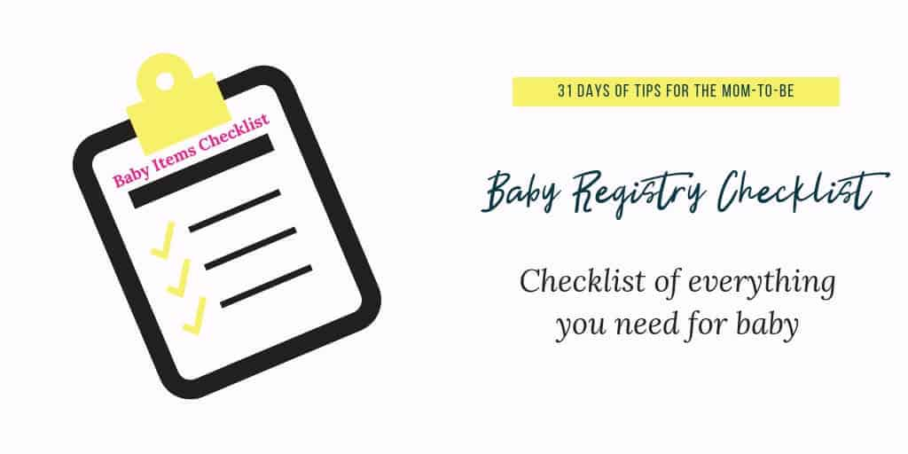 picture about Baby Registry Checklist Printable named Get this significant child registry listing: Against one particular mother in direction of