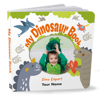 Dinosaur board book