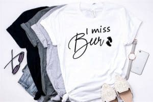 I Miss Beer pregnancy shirt