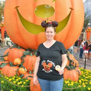 pumpkin maternity shirt