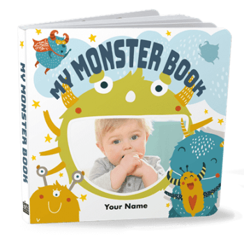 Monster board book