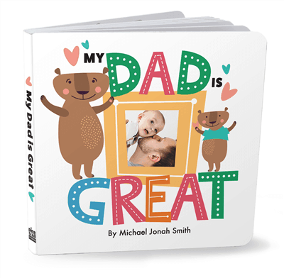 Father's Day custom book