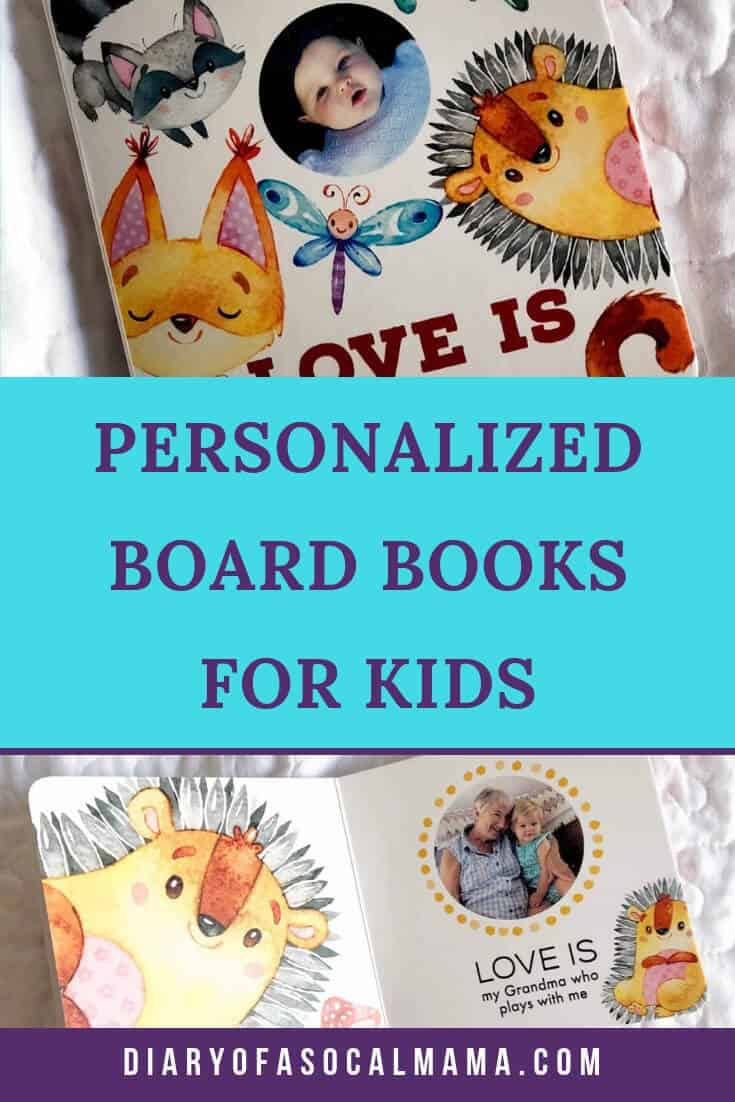 personalized board books
