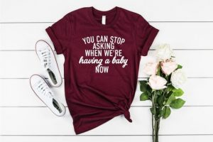 funny maternity t shirts