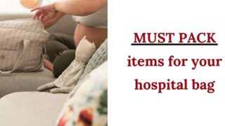 19 items to pack in your hospital bag: Get the printable hospital bag checklist!