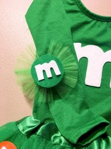 m&m costume headband
