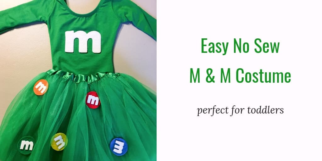 m&m kids costume