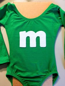 no sew m&m costume