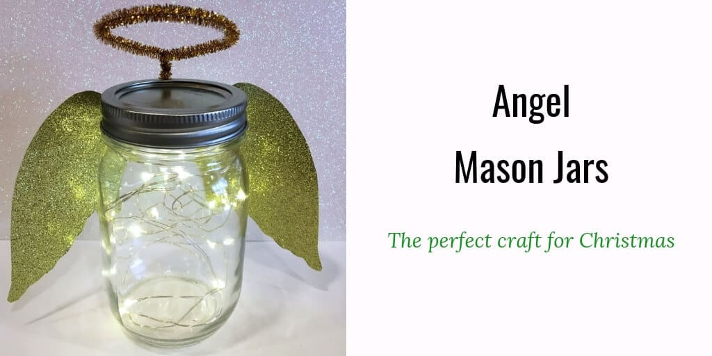 Angel mason jars