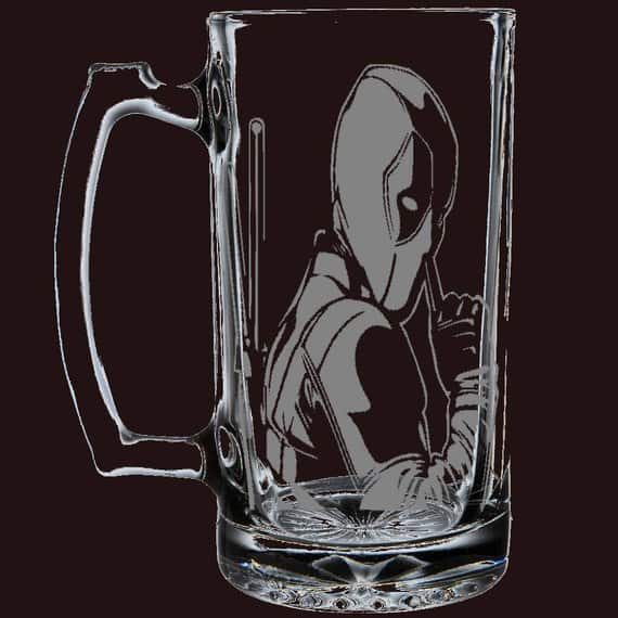Deadpool beer mug