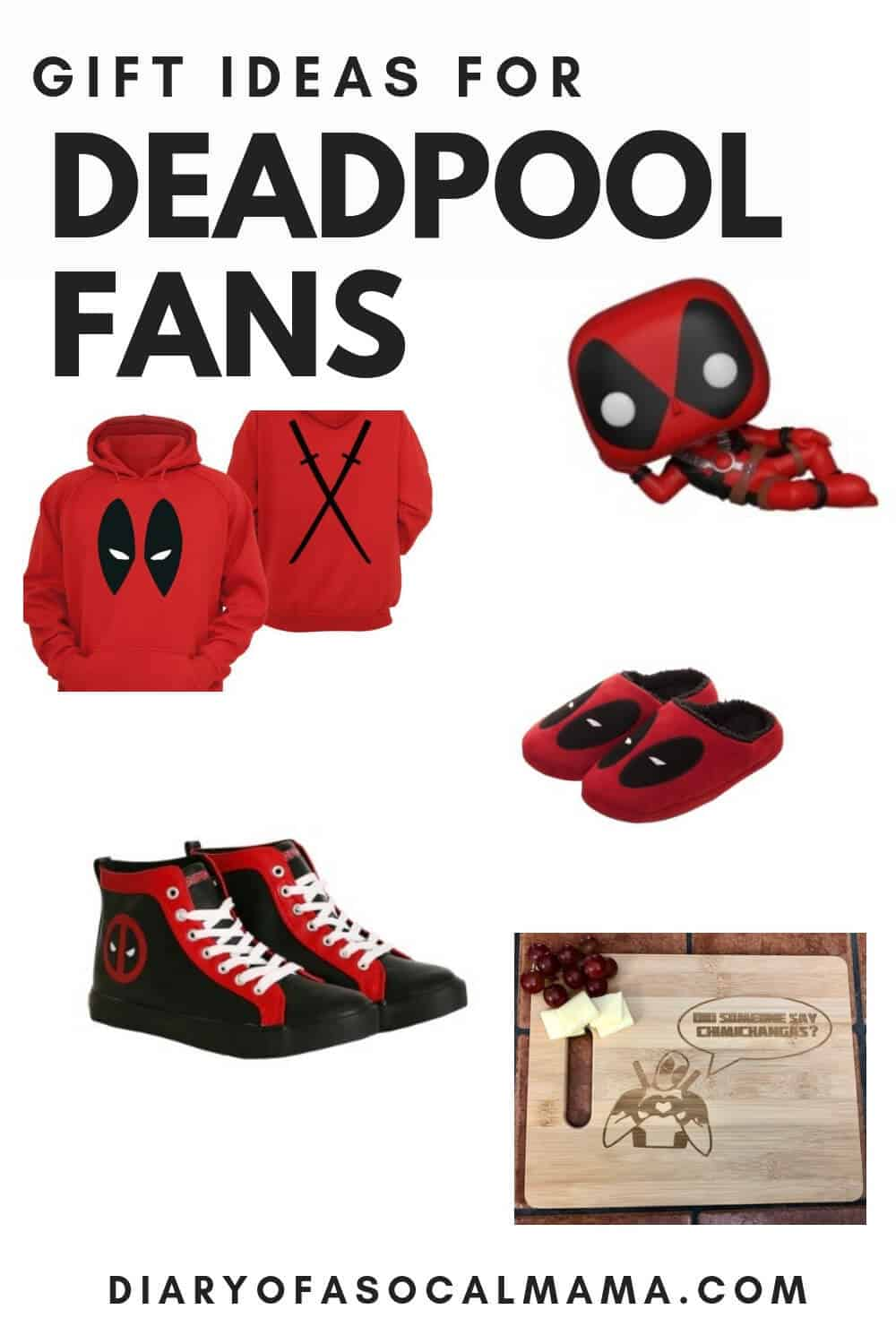 Deadpool fan gift ideas