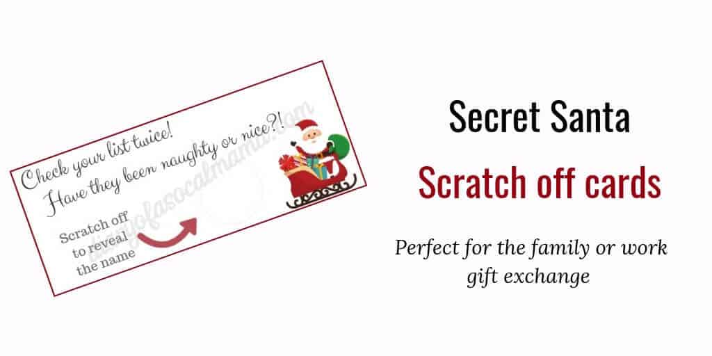 how to set up secret santa
