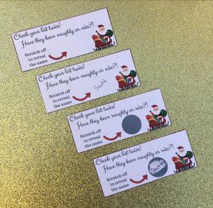 Secret Santa template for work