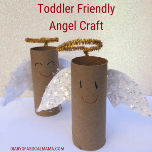 toddler friendly angel craft