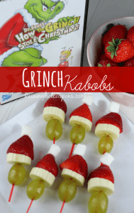 Grinch snack ideas