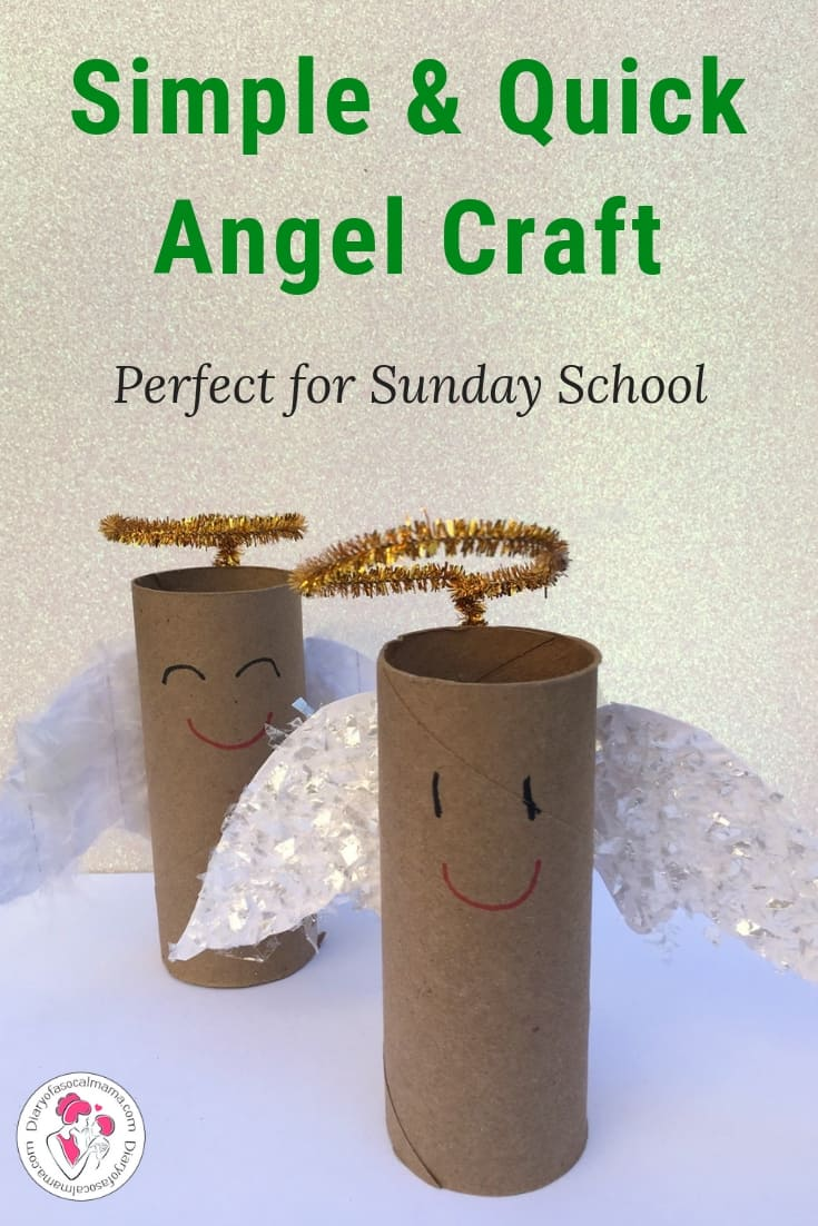 angel crafts for Sunday school