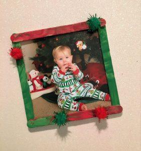 toddler popsicle frame craft