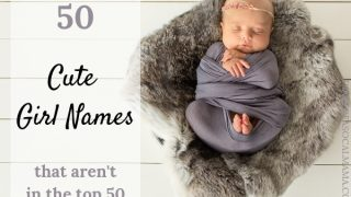 50 baby girl names that are NOT in the Top 50