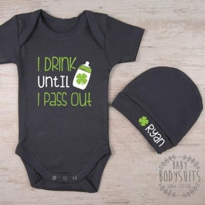 Baby st. patrick's day outfit