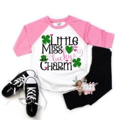 Girls St. Patrick's Day shirt