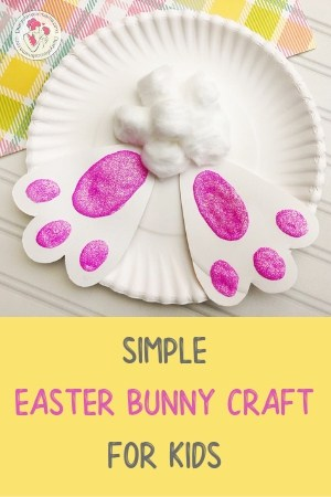 Easter bunny crafts for toddlers