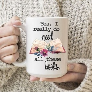 book lovers mug